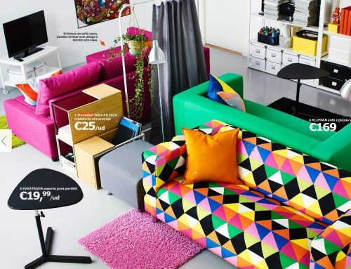 6 ideas para decorar salones peque os de ikea - Decorar salon barato ...