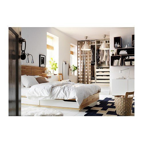 Ikea Aneboda Full Size Bed Frame ~ Mandal Ikea Bett Mit Schubladen Jpg Pictures to pin on Pinterest