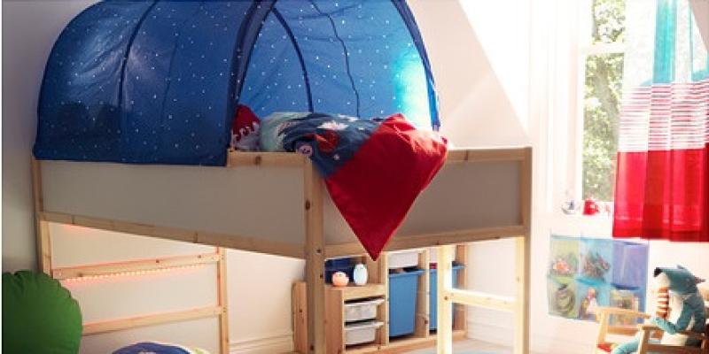 3 camas altas de ikea for Cama nino ikea