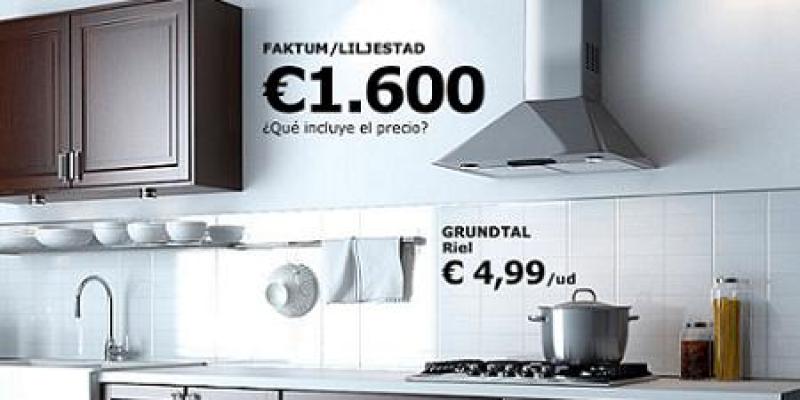 Cocina faktum rubrik de ikea muy funcional y moderna por - Cocinas por 2000 euros ...
