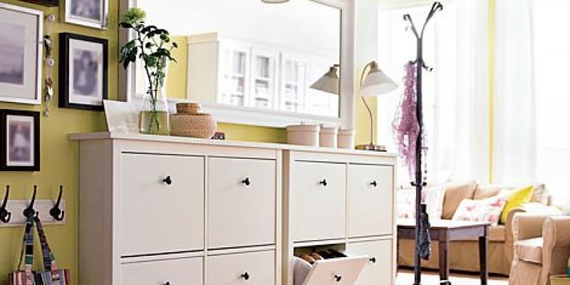 Los nuevos recibidores de ikea 2015 ideas para decorar - Espejos recibidor ikea ...