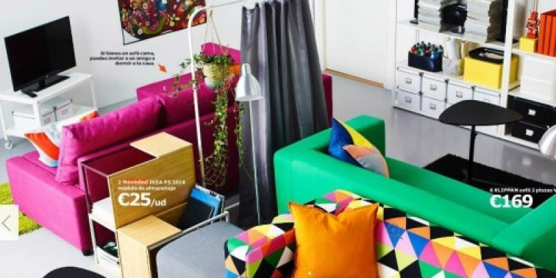 Los espacios peque os seg n ikea for Salones pequenos ikea