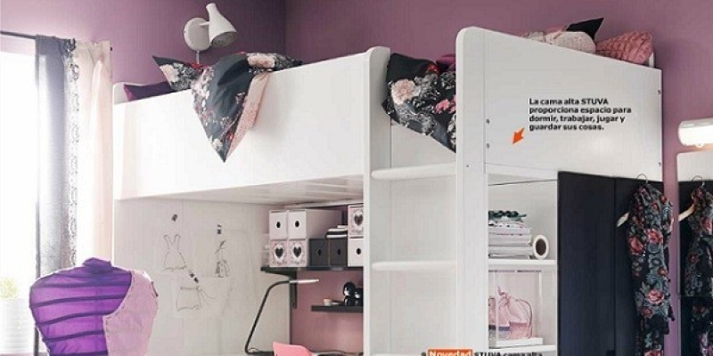 Habitaciones juveniles ikea de chica for Habitaciones juveniles chica