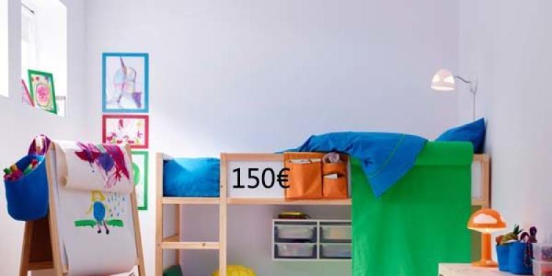 Habitaci n para 2 ni os con ikea for Ikea dormitorios ninos