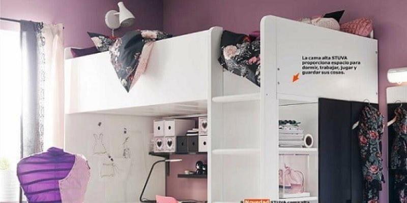Habitaciones juveniles Ikea de chica