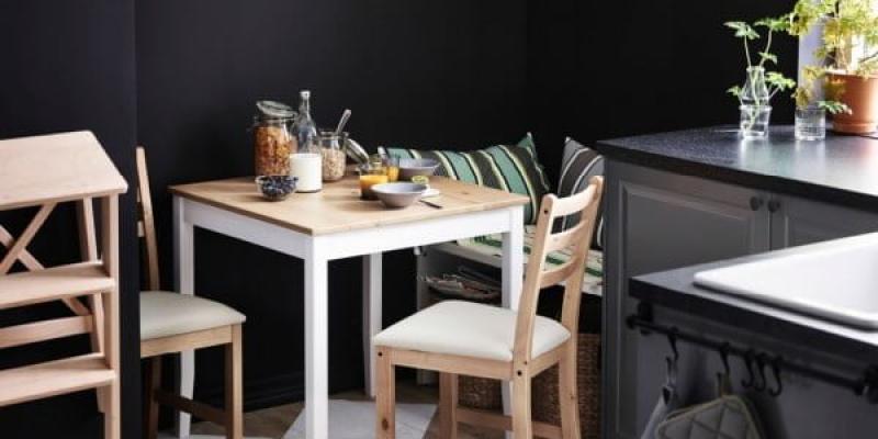 Cocinas ikea de estilo industrial - Ikea mesas cocina redondas extensibles ...