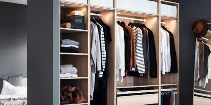 C mo crear un armario de ikea personalizado con el planificador - Como forrar un armario por dentro ...