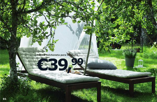 Ikea jard n cat logo 2015 muebles de exterior iluminaci n - Ikea terraza y jardin ...
