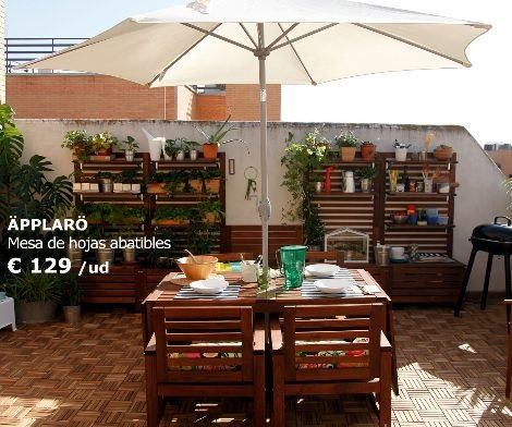 Terraza ikea for Cofac catalogo jardin 2015