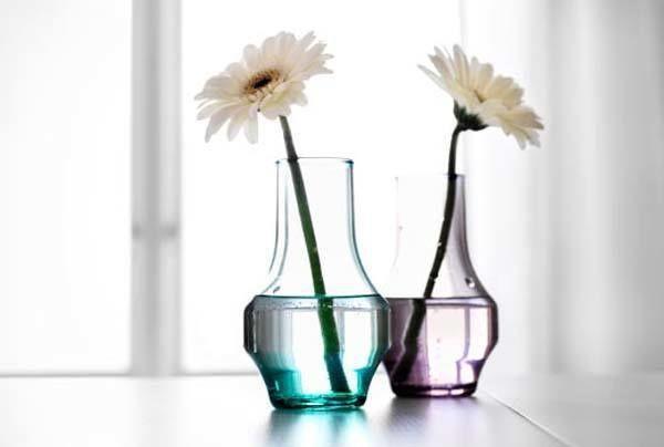 nuevos jarrones ikea y macetas para decorar tu jardn - Jarrones De Cristal