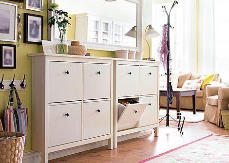 Recibidores ikea las mejores ideas para entradas modernas - Muebles entraditas ikea ...