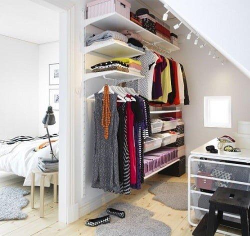 Ikea Poang Chair Cushion Replacement ~ Vestidores pequeños de IKEA 2015 ideas para espacios pequeños