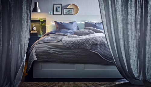 Nuevos dormitorios de ikea para el invierno 2015 for Dormitorio ikea blanco