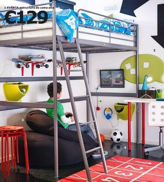 Dormitorios juveniles de ikea cat logo 2015 - Habitacion con literas para ninos ...