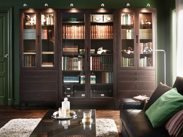 Las mejores librer as de ikea para tu sal n colecci n 2015 for Librerias para salones modernos