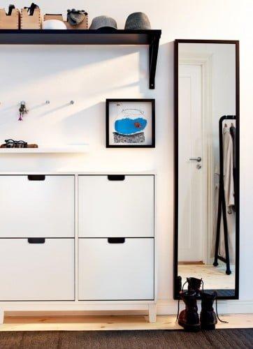 Los nuevos recibidores de ikea 2015 ideas para decorar - Entraditas pequenas ikea ...