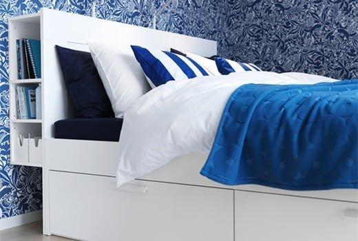 Cabeceros de IKEA para camas de matrimonio 2015