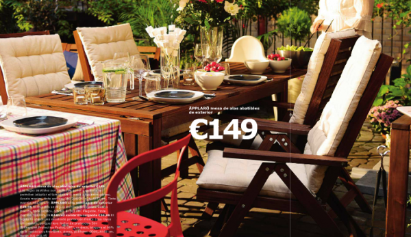 Cat logo de muebles de jard n ikea verano 2015 - Ikea mesas exterior ...