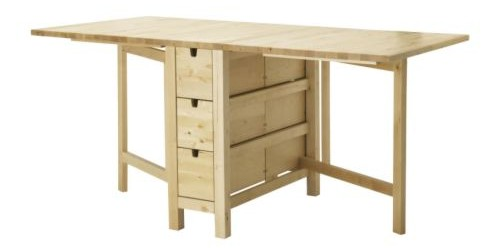 5 modelos de mesa plegable Ikea para tu cocina o comedor
