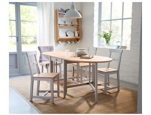 Mesa Comedor Blanca Ikea. Affordable Mesas De Cristal Ikea Para El ...