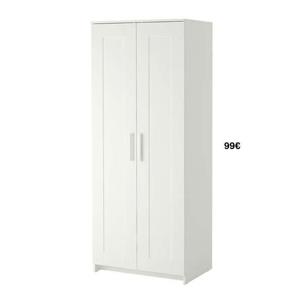 Armarios Ikea: 5 roperos por menos de 100 euros