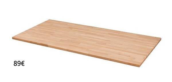 Tableros ikea para montar tus propias mesas - Tablero escritorio ...