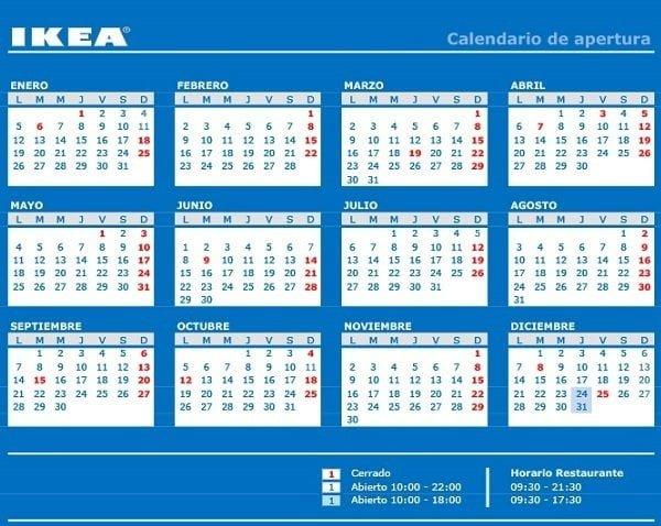 Ikea Murcia Horario 2015 y calendario apertura - photo#1