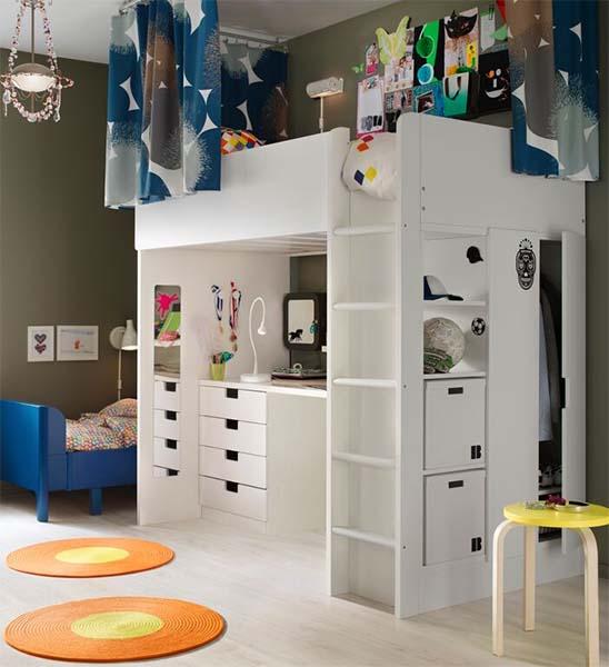 Kinderbett Mit Gästebett Ikea ~   Ikea 2016 completo! Nuevas habitaciones infantiles ikea 2016 catálogo