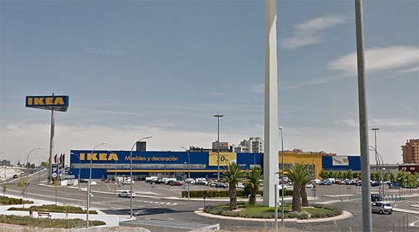 ikea ensanche de vallecas direcci n y horario la tienda sueca. Black Bedroom Furniture Sets. Home Design Ideas