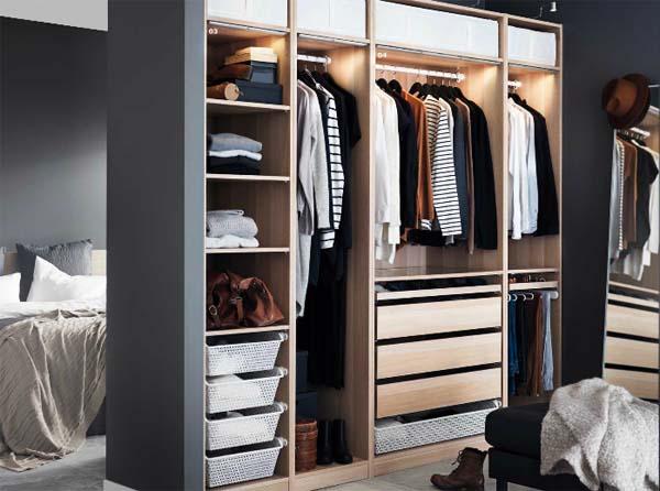 Armarios pax la soluci n para nuestra ropa la tienda sueca - Accesorios para armarios roperos ...