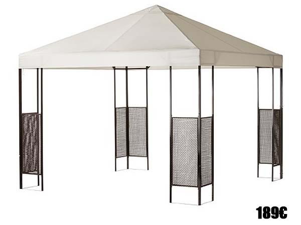 Muebles para jard n y terraza 2016 for Farolas jardin ikea
