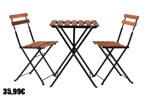 Muebles para jard n y terraza 2016 - Ikea mesas jardin ...