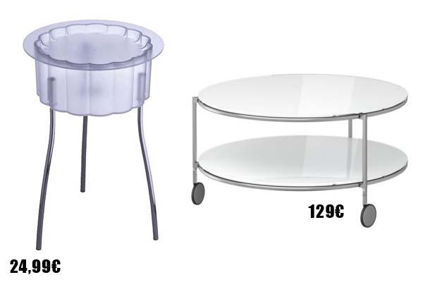 Nuevas mesas de centro y auxiliares for Mesa de dibujo ikea