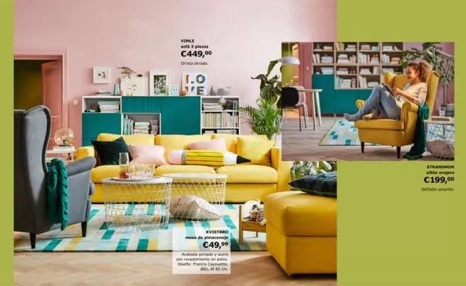 Nuevo catalogo ikea 2018 la tienda sueca - Ikea catalogo alfombras ...