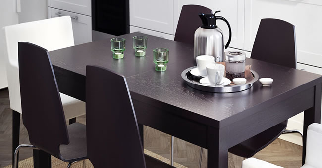 mesa comedor ikea modelo bjursta