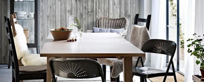 Las mesas de comedor Ikea más prácticas son las extensibles