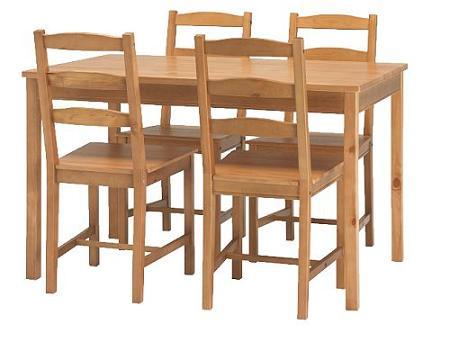 Las mesas de comedor m s baratas de ikea for Mesas comedor baratas ikea