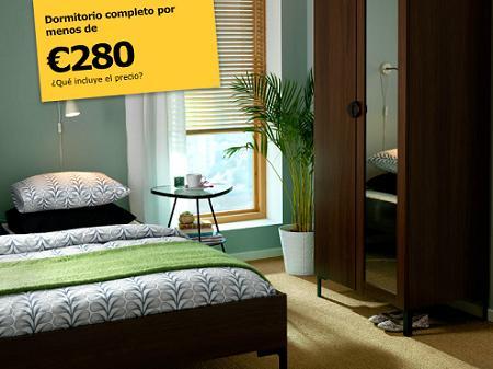 El dormitorio m s barato de ikea - Dormitorios baratos ikea ...