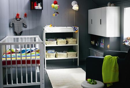 8 habitaciones de beb de ikea - Ikea habitaciones bebe ...