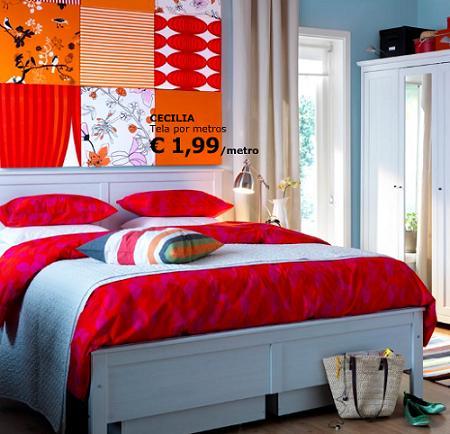 Crea tus propios tapices de pared con ikea - Tapices pared ikea ...