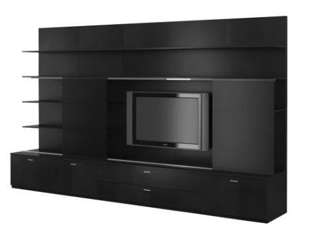 Decora tu sal n con un sofisticado mueble tv de ikea - Muebles para tv minimalistas ...