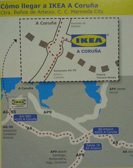 Ikea a coru a c mo llegar - Ikea como llegar ...