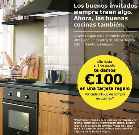 Ikea te regala 100 euros por comprar muebles de cocina - Muebles por un euro ...