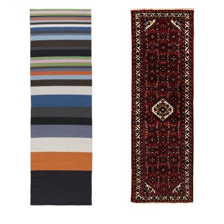 10 alfombras de pasillo de ikea
