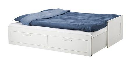 Camas con cajones de ikea for Cajones bajo cama ikea