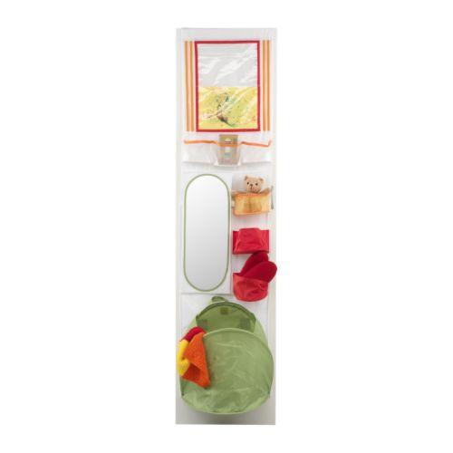 5 accesorios de ikea para guardar los juguetes for Espejo con almacenaje